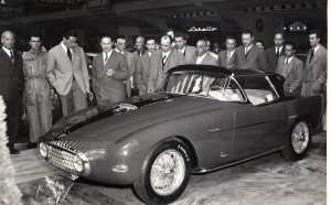 Fiat 8V Demon Rouge